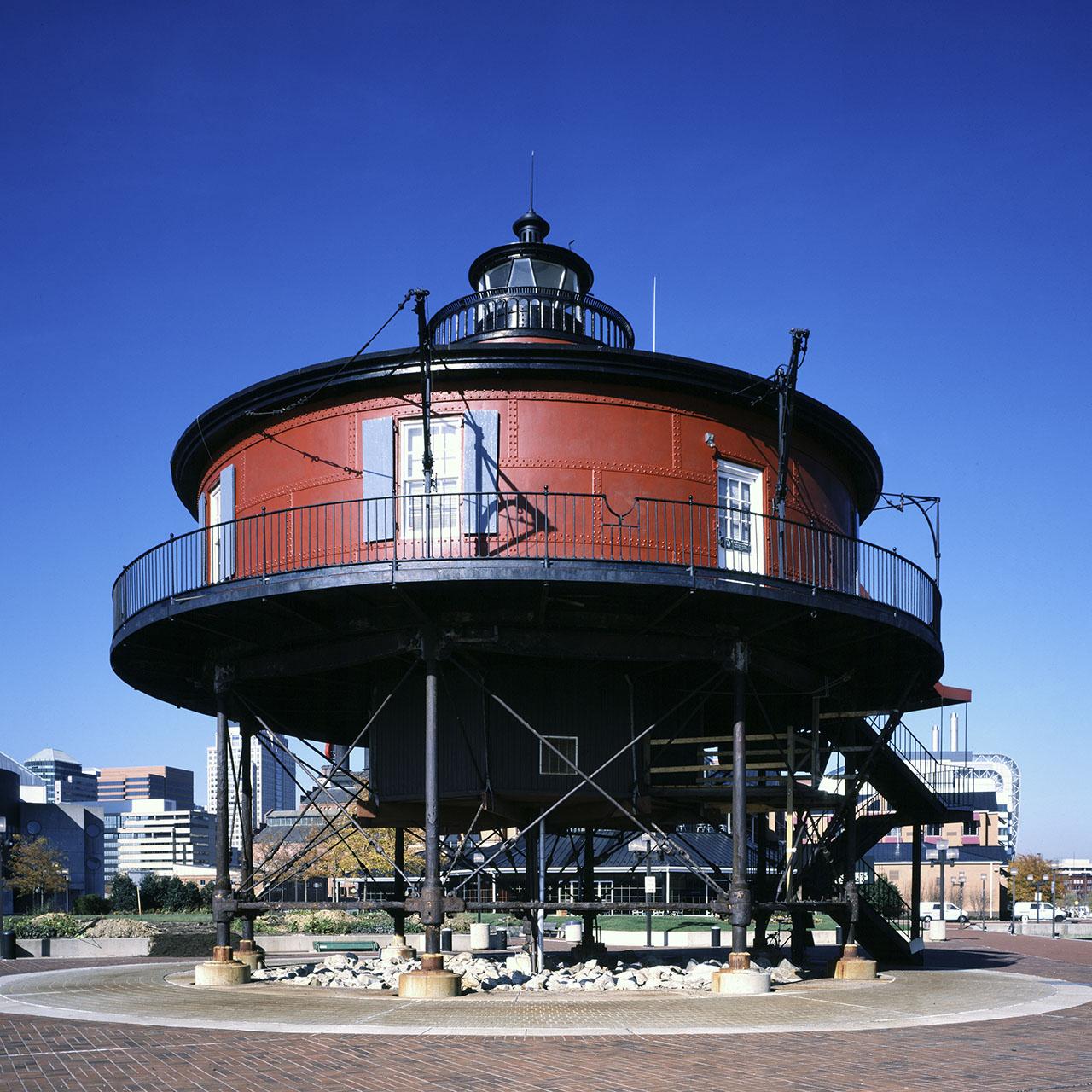 Seven Foot Knoll Light, Baltimore, Maryland