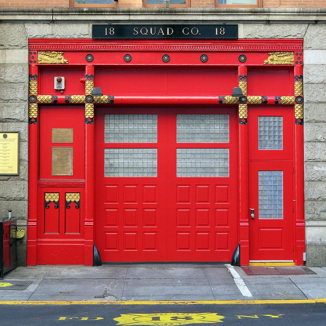 Firehouse in New York City